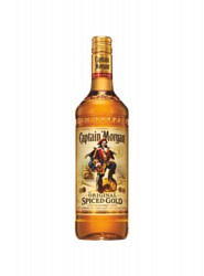 CAPTAIN MORGAN SPICED GOLD ROM 1 LT