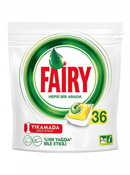 332727 FAIRY TABLET FOR DISHWASHER LEMON 36 PIECES 4084500410534